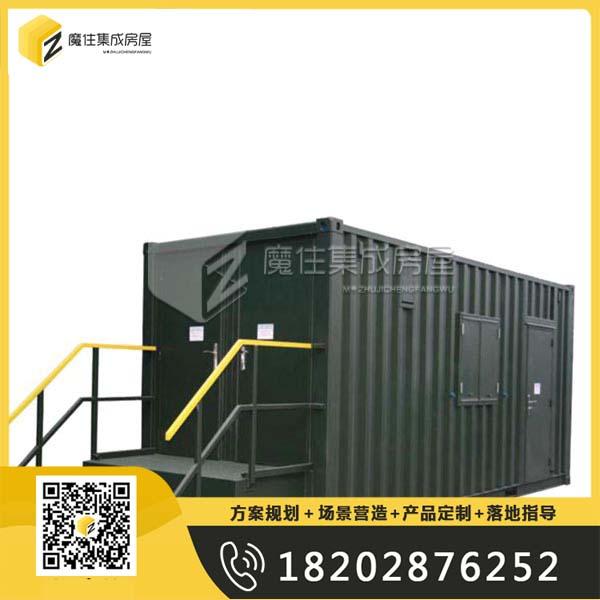 成都集装箱移动水冲式厕所项目方案规划