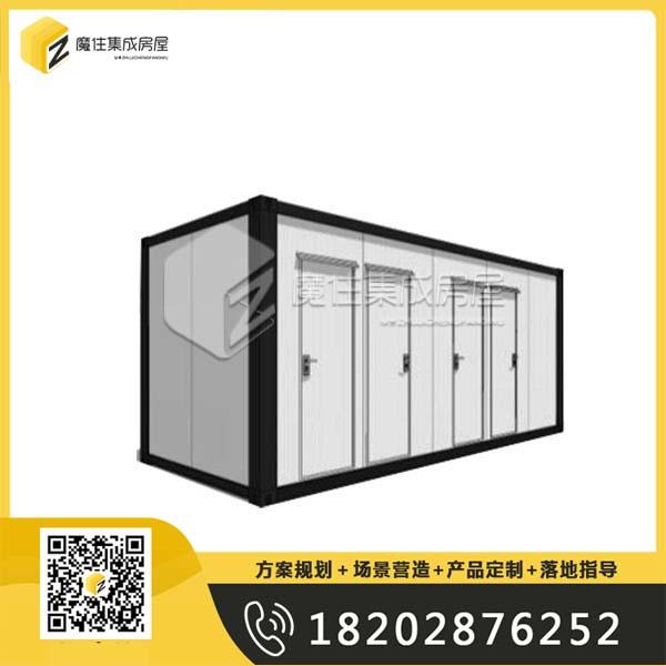 乐山集装箱式钢结构真空自吸式厕所