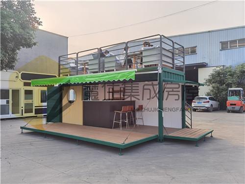 出口美国双层集装箱咖啡厅