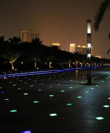 陕西亮化工程—LED地埋灯