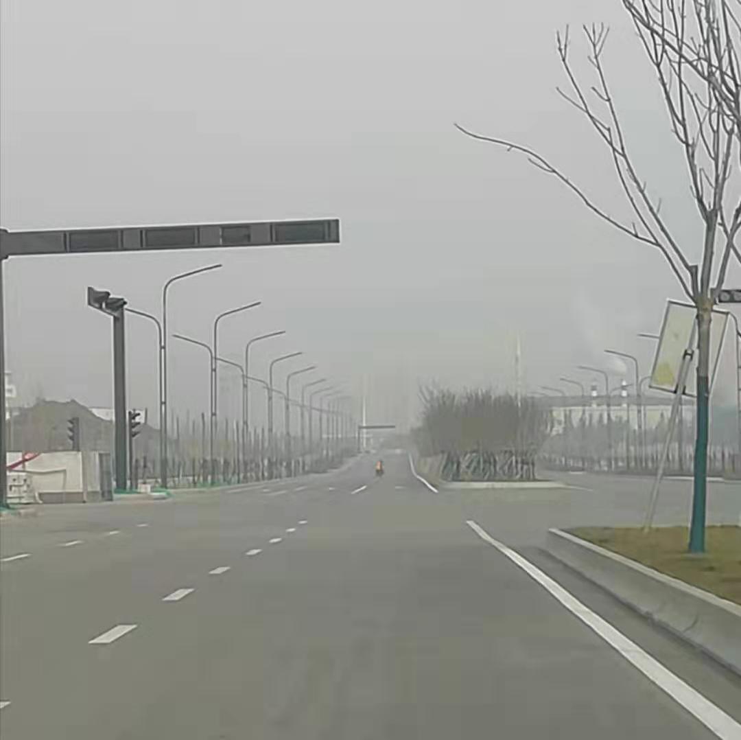 沣西新城沣渭大道市政照明工程