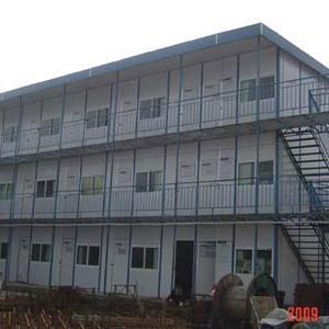 三层豪华平顶活动房