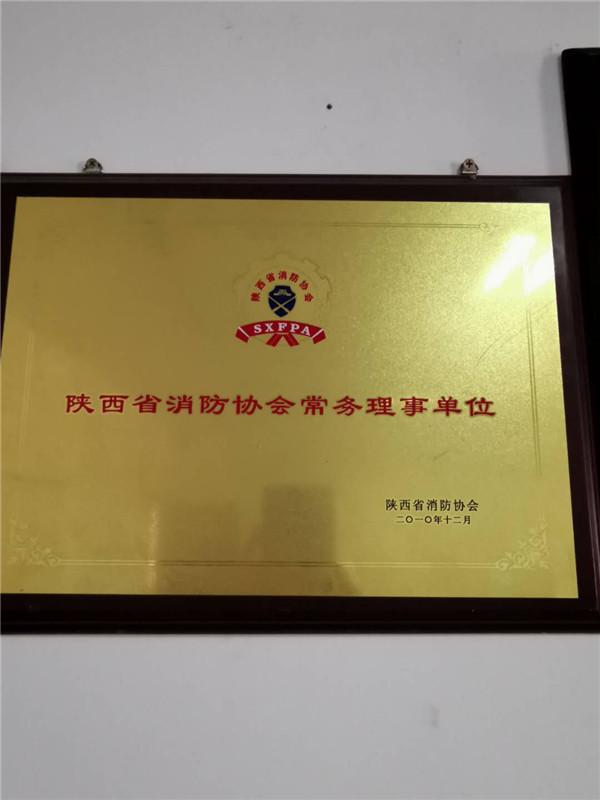 陕西省消防协会常务理事单位