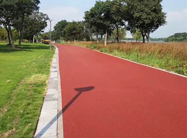 四川彩色沥青路面施工成功案例