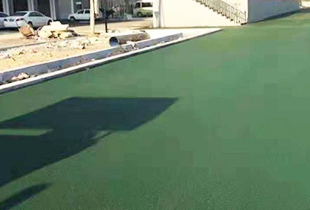 德阳彩色沥青路面施工