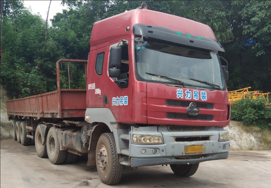 泸州拖挂车-10米