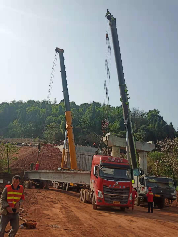 荣县架桥案例