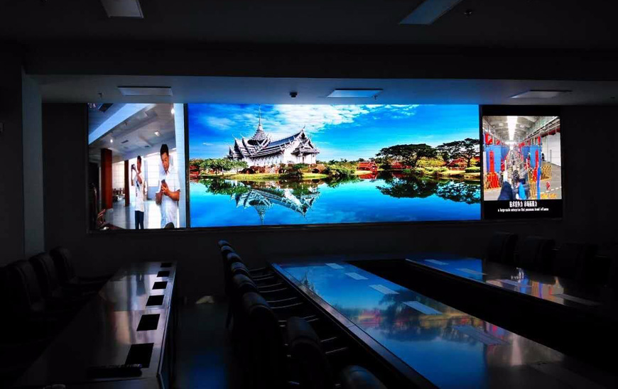 兰州会议室LED显示屏