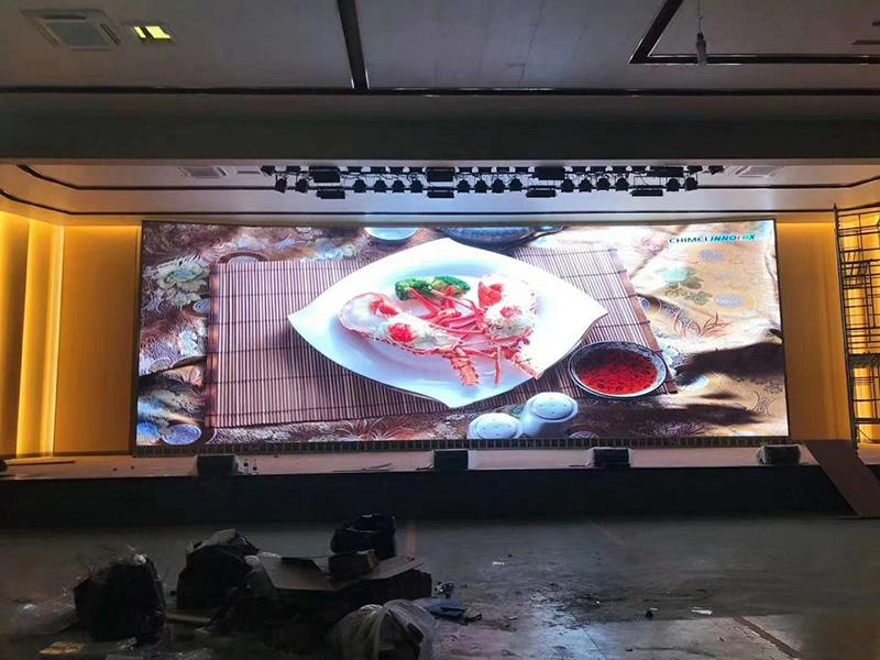 西宁某酒店P2.5LED显示屏
