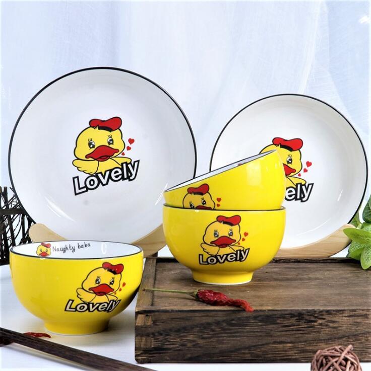 红嘴鸭陶瓷餐具