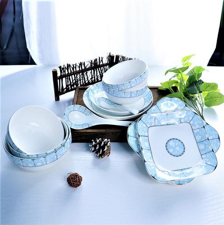 某川菜馆定制陶瓷餐具案例