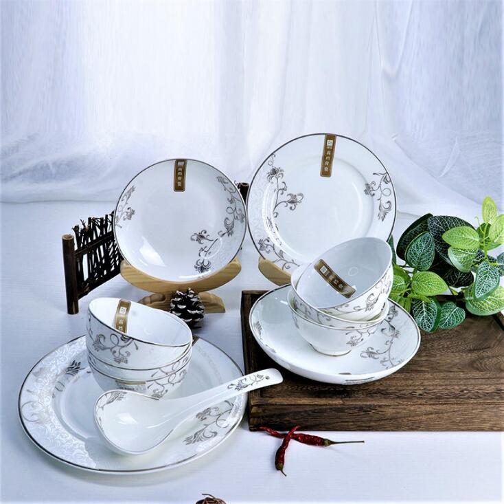 西安陶瓷碗盘餐具生产