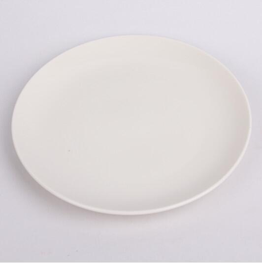 佳轩陶瓷向你讲解为什么陶瓷盘会从中间裂成两半?