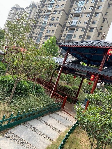 郑州防腐木凉亭施工