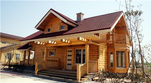 防腐木木屋施工安装