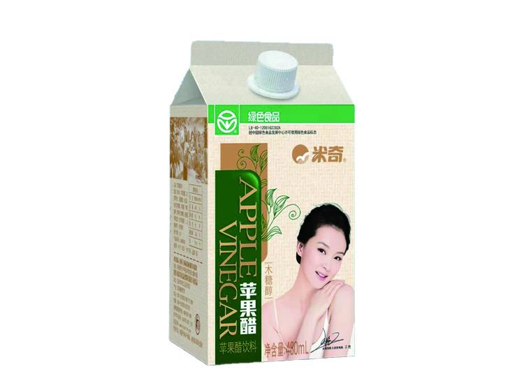 绿木糖醇苹果醋480ml