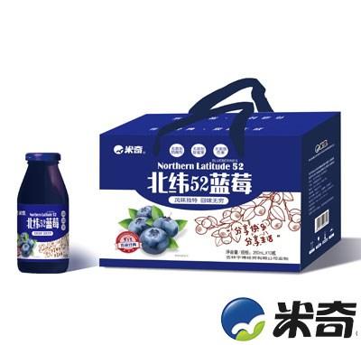 米奇北纬52蓝莓复合果汁