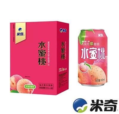 米奇水蜜桃复合果汁饮料