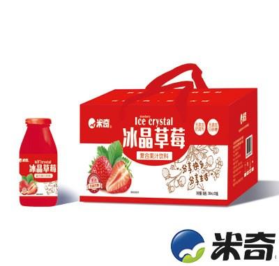米奇冰晶草莓复合果汁