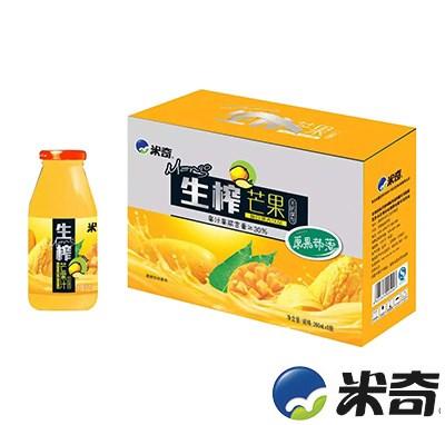 米奇生榨芒果复合果汁饮品