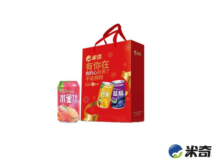 米奇水蜜桃复合果汁