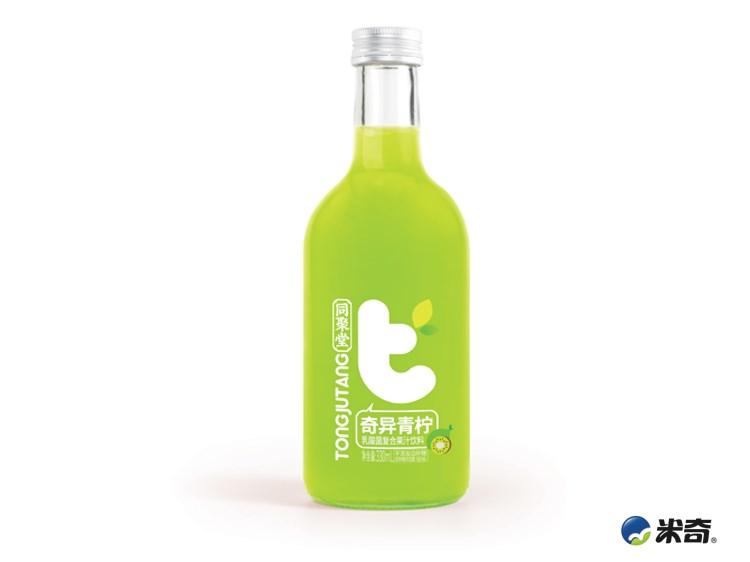 同聚堂奇異青檸乳酸菌復合果汁330ml