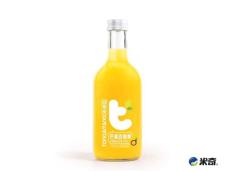 同聚堂芒果百香果乳酸菌復合果汁330ml