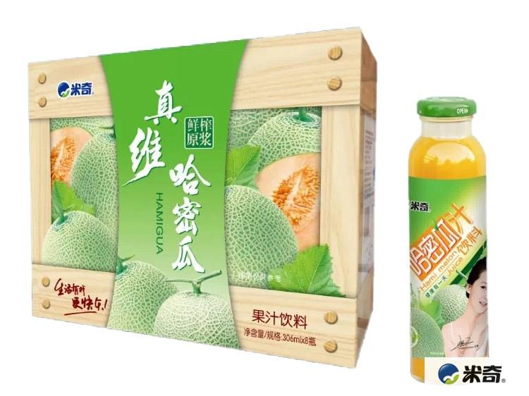 哈密瓜果汁饮料306ml