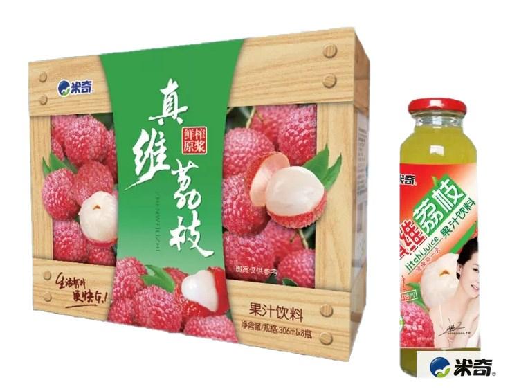 荔枝果汁饮料306ml