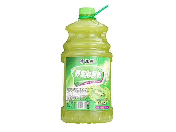 野生猕猴桃复合果肉果粒饮料2.5L