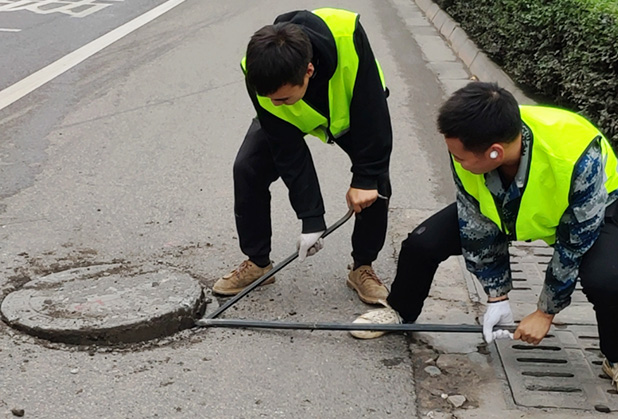 宜宾地下管线测量案例