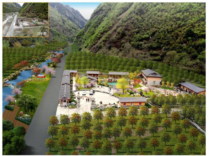 白河乡太平村农旅融合示范园