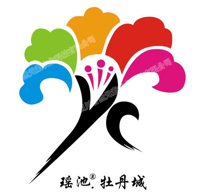 瑶池.牡丹城logo