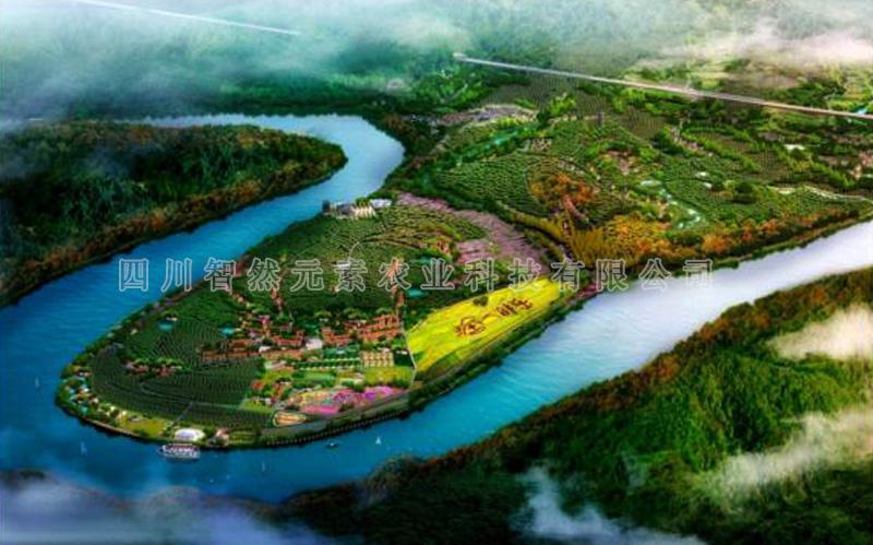 杨柳滩村乡村旅游规划效果图