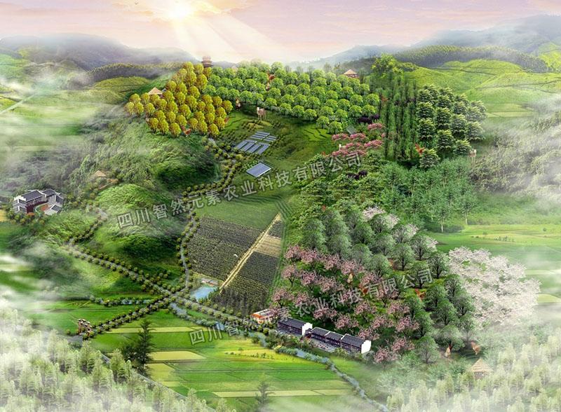 云南彭州市红岩生态农业循环经济园可研