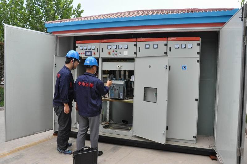 宁夏盛世华欣电气开关厂家邀您了解箱式变电站的说明和使用