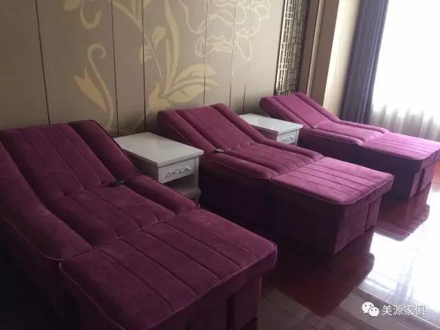 红泉大酒店家具足浴沙发