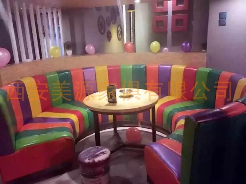 西安餐饮沙发定制