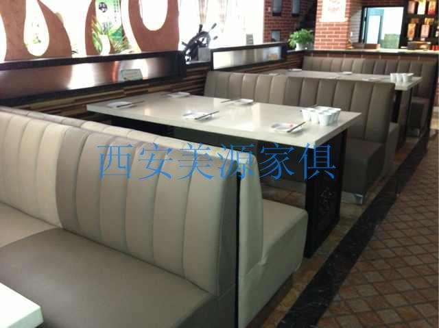 西安茶艺卡座沙发