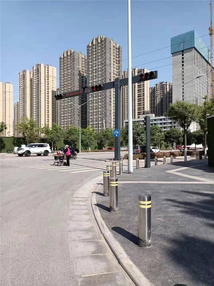 市政道路固定柱