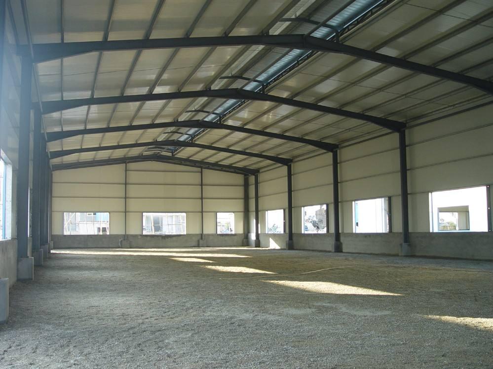 净化板工业厂房使用案例