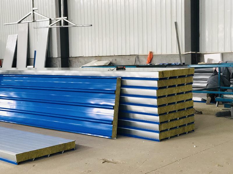 硅岩净化板厂房实景