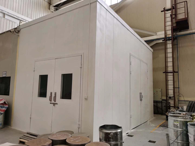 高陵西部超导材料有限公司隔音房案例
