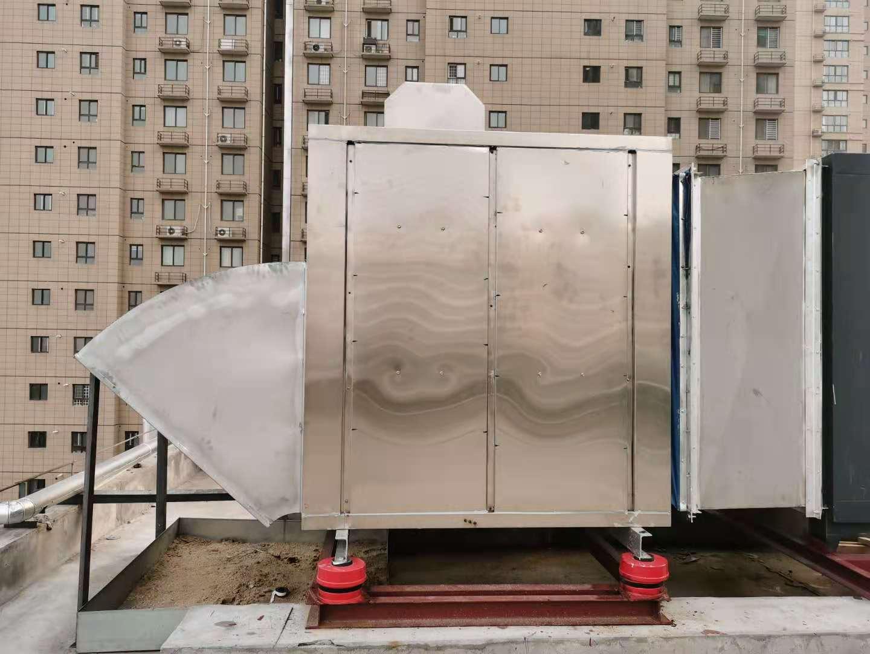 宁夏冷却塔、室外机组、风机声屏障隔吸声板减震治理
