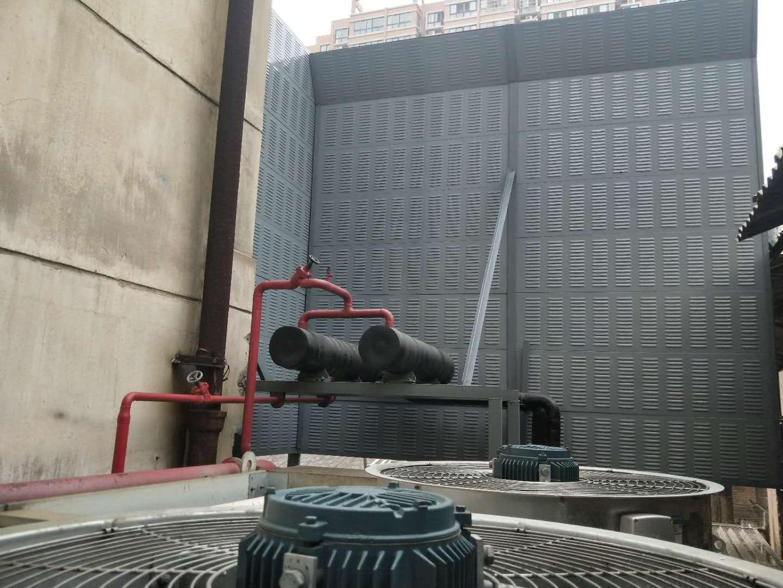 西安干鲜果食品公司冷凝器降噪案例