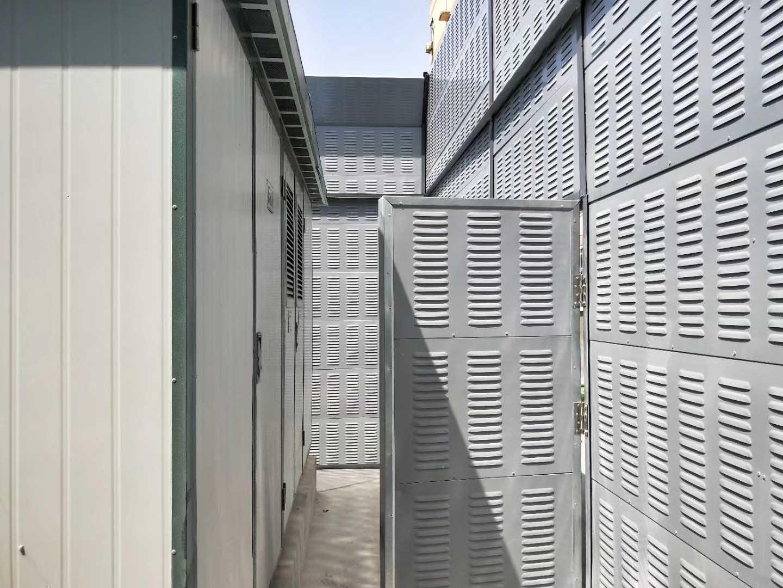 西安理工大学金花住宅区变压器降噪案例