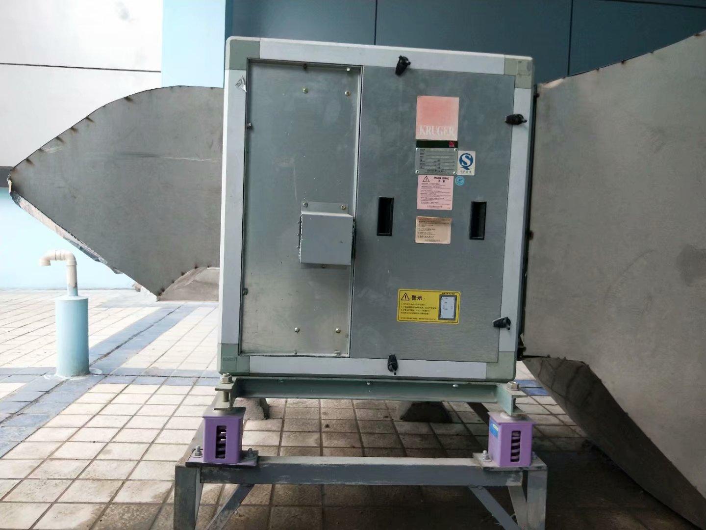 排风机减震器安装