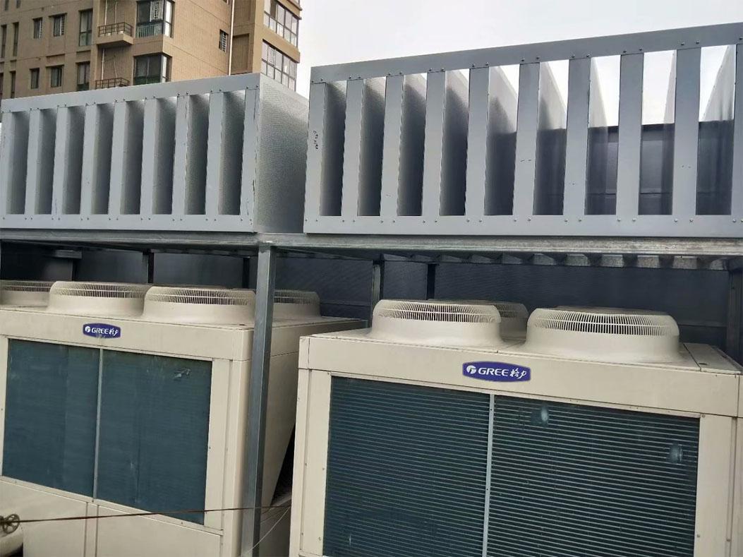 西安空调机组消音器项目