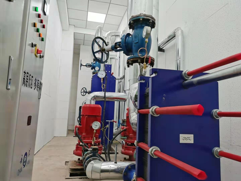 华清苑地下室水泵房噪音治理