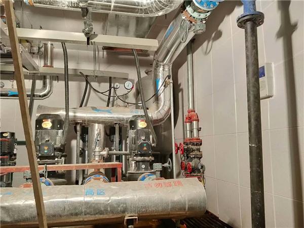 延长石油定边供热站噪音治理